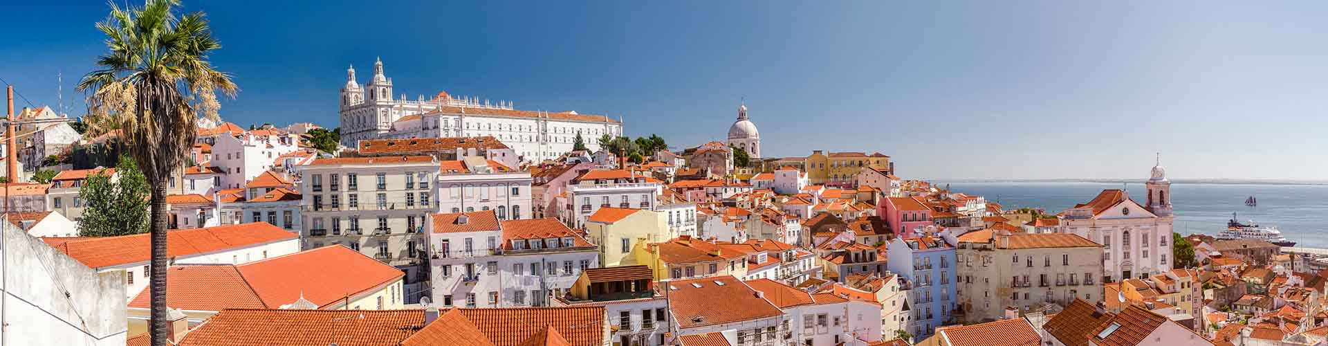 Lisboa - Campamentos en el distrito Alfama. Mapas de Lisboa, Fotos y comentarios de cada Campamento en Lisboa.
