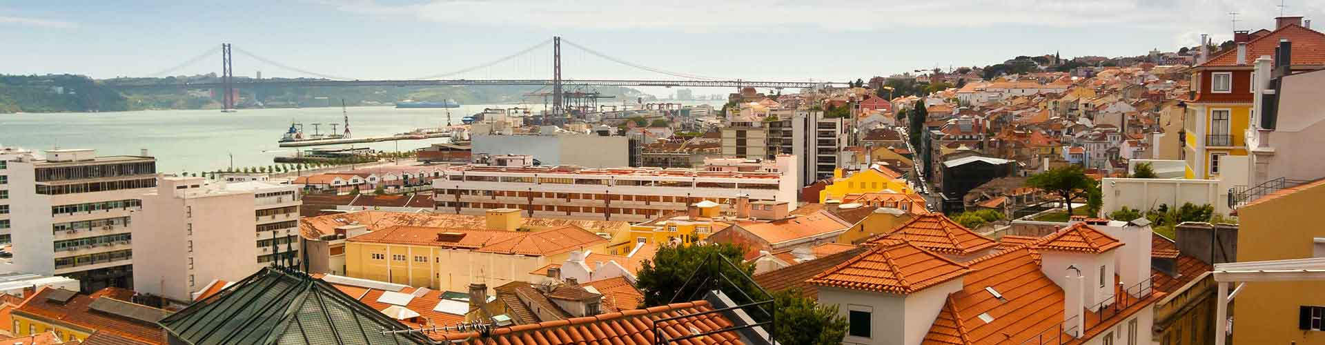 Lisboa - Hostales en el distrito Bairro Alto. Mapas de Lisboa, Fotos y comentarios de cada Hostal en Lisboa.