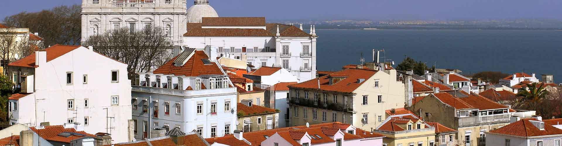 Lisboa - Campamentos en el distrito Centro. Mapas de Lisboa, Fotos y comentarios de cada Campamento en Lisboa.