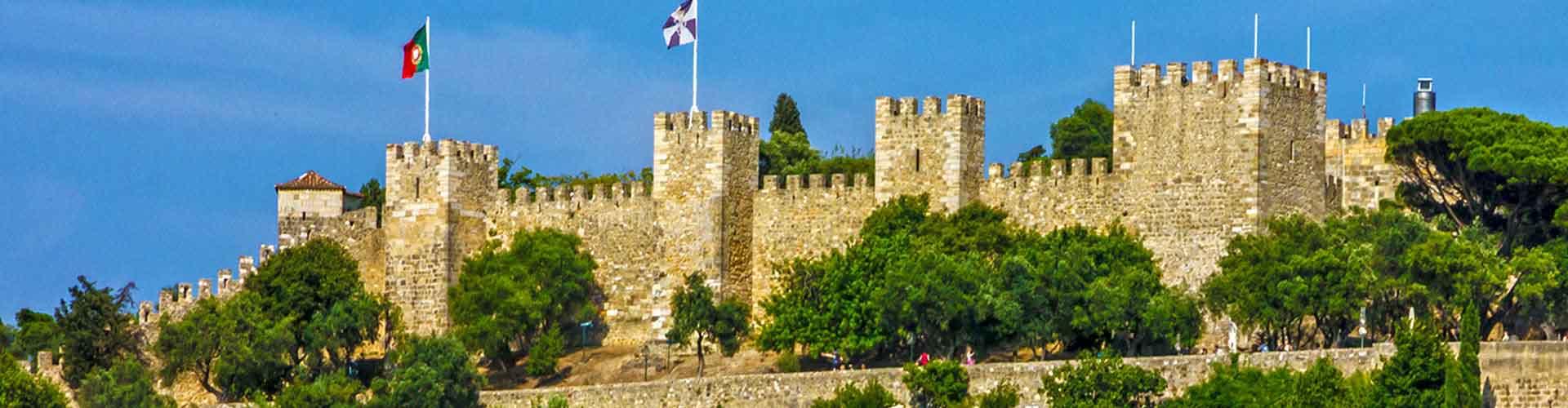 Lisboa - Hostales cerca a Castillo de San Jorge. Mapas de Lisboa, Fotos y comentarios de cada Hostal en Lisboa.