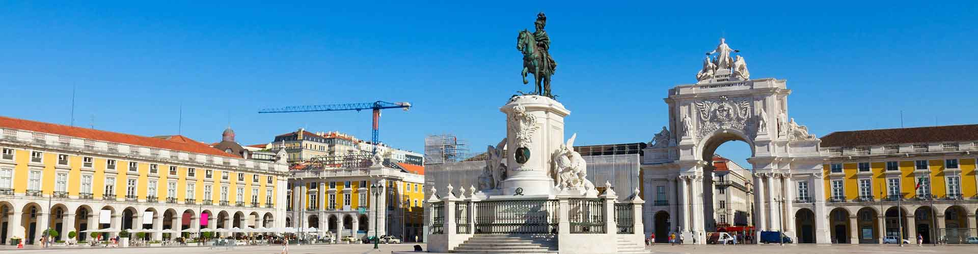Lisboa - Hostales cerca a Praça do Comércio. Mapas de Lisboa, Fotos y comentarios de cada Hostal en Lisboa.