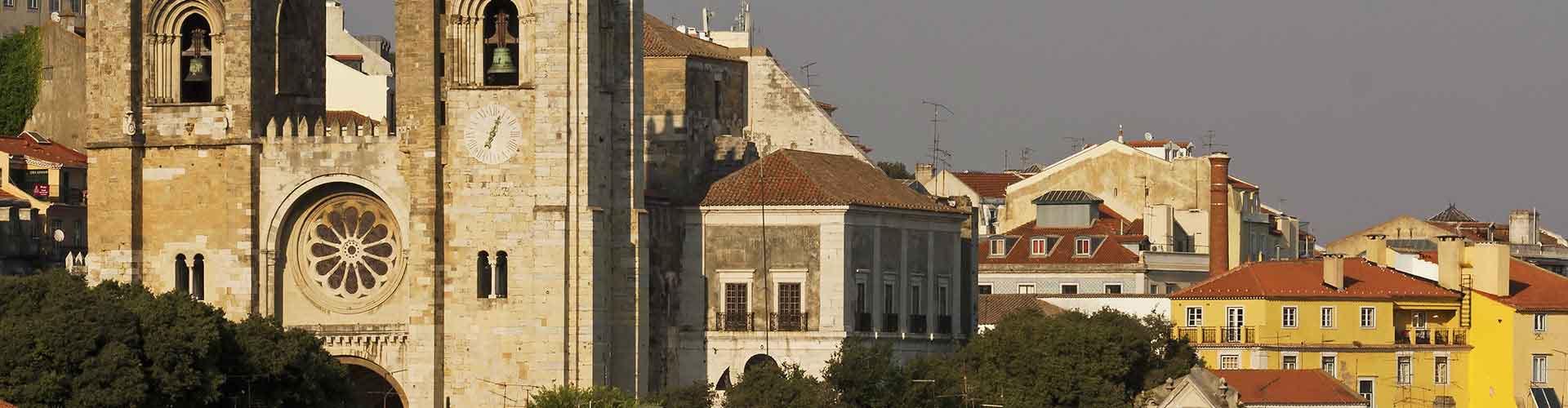 Lisboa - Habitaciones cerca a Sé de Lisboa. Mapas de Lisboa, Fotos y comentarios de cada Habitación en Lisboa.