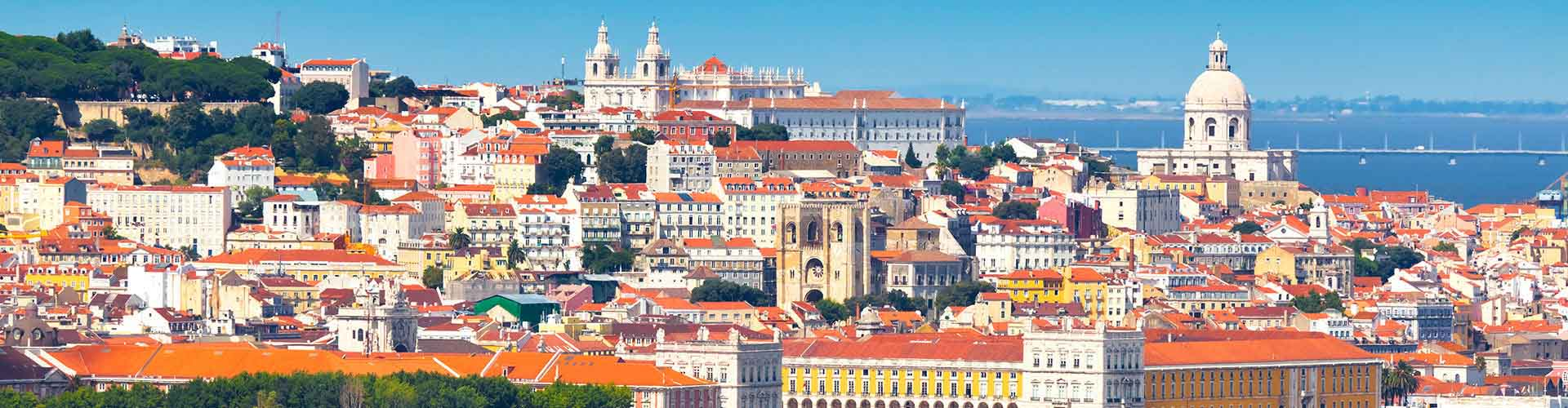 Lisboa - Campamentos en el distrito Madragoa. Mapas de Lisboa, Fotos y comentarios de cada Campamento en Lisboa.
