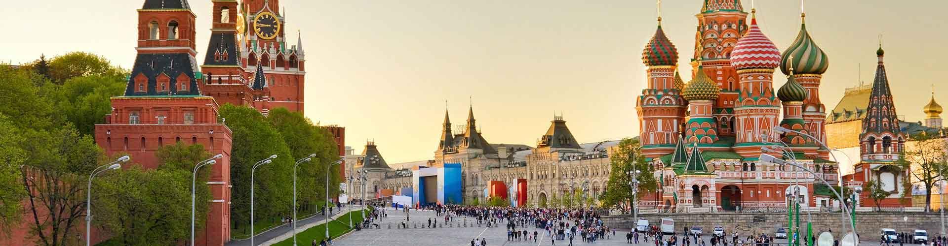 Moscú - Campamentos cerca a Saint Basil's Cathedral. Mapas de Moscú, Fotos y comentarios de cada Campamento en Moscú.