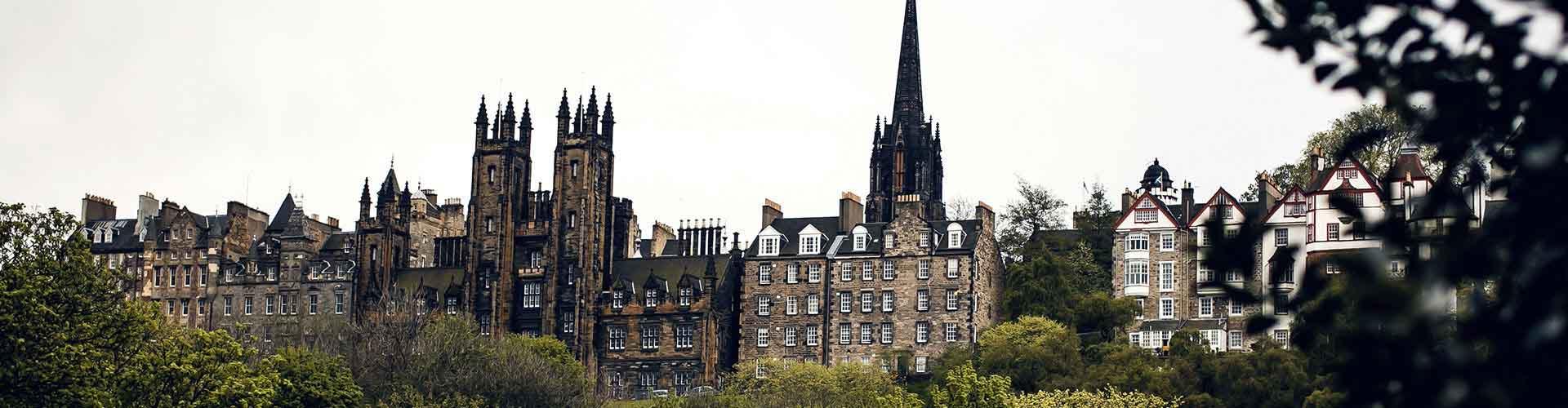Edimburgo - Apartamentos en el distrito Old Town. Mapas de Edimburgo, Fotos y comentarios de cada Apartamento en Edimburgo.