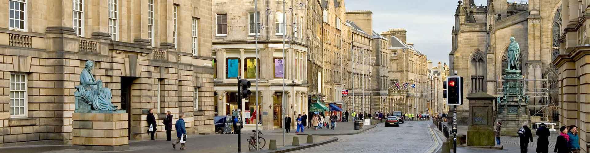 Edimburgo - Hostales en el distrito The High Street. Mapas de Edimburgo, Fotos y comentarios de cada Hostal en Edimburgo.