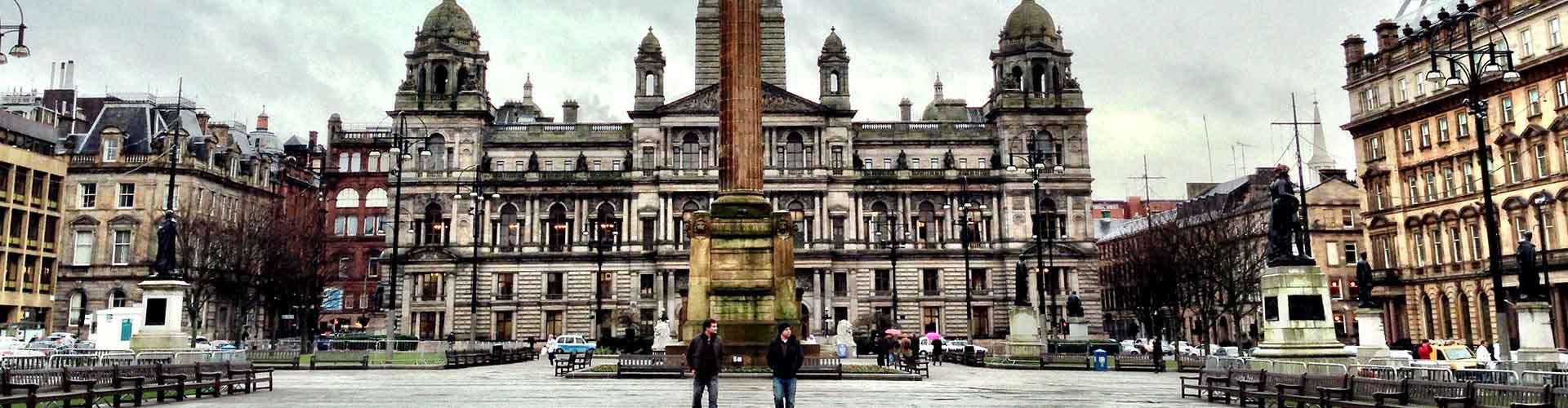 Glasgow - Hostales en el distrito Lado Sur. Mapas de Glasgow, Fotos y comentarios de cada Hostal en Glasgow.