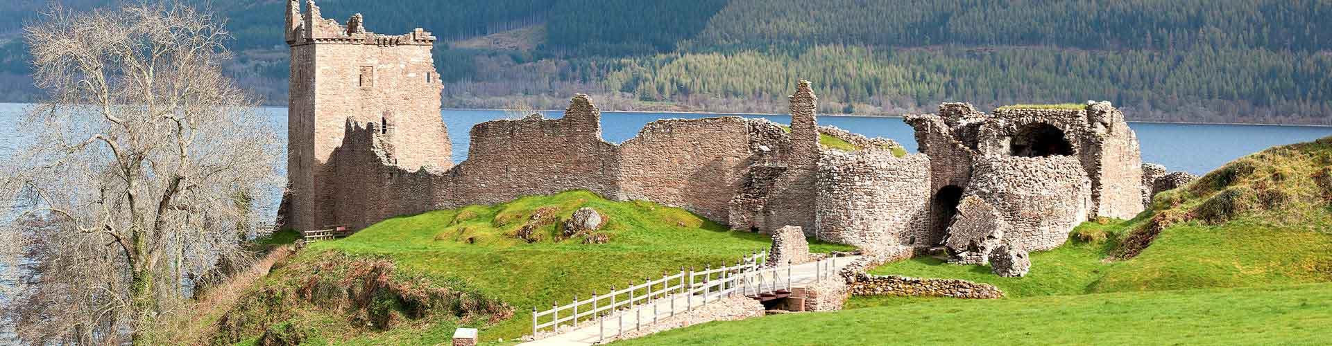 Loch Ness - Hostales en Loch Ness. Mapas de Loch Ness, Fotos y comentarios de cada Hostal en Loch Ness.
