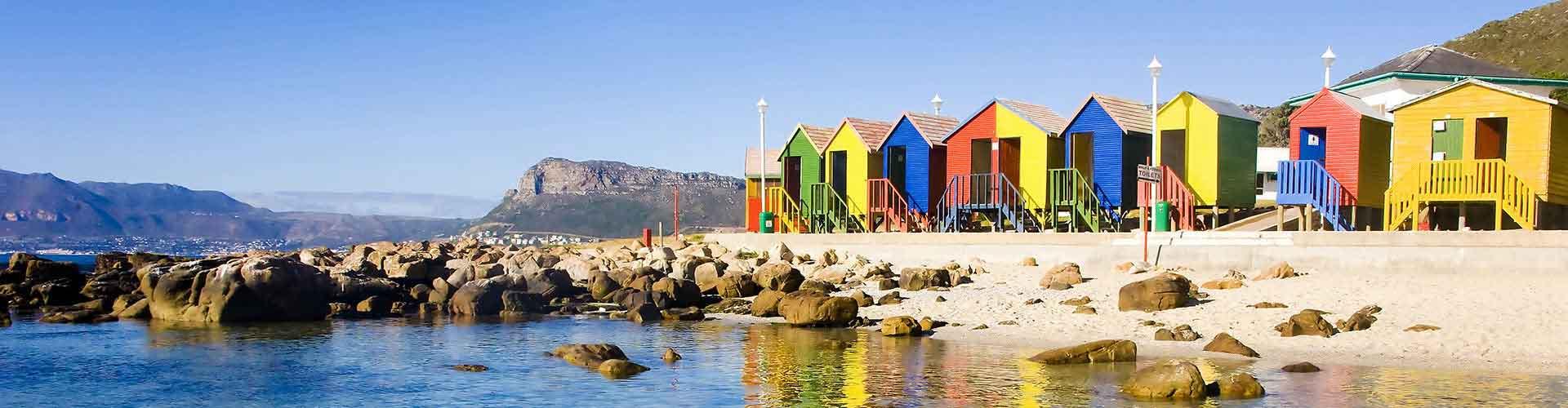 Ciudad del Cabo - Hostales en el distrito Woodstock. Mapas de Ciudad del Cabo, Fotos y comentarios de cada Hostal en Ciudad del Cabo.