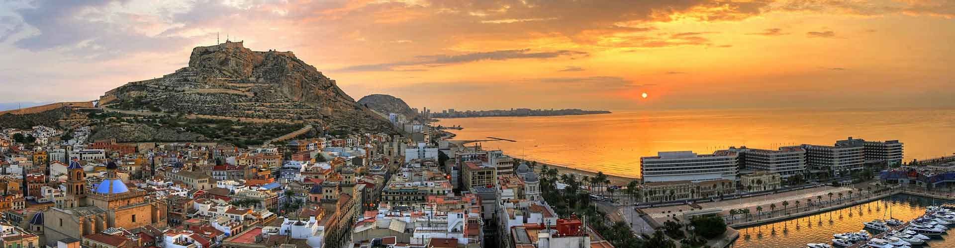 Alicante - Apartamentos en el distrito Cabo de las Huertas. Mapas de Alicante, Fotos y comentarios de cada Apartamento en Alicante.