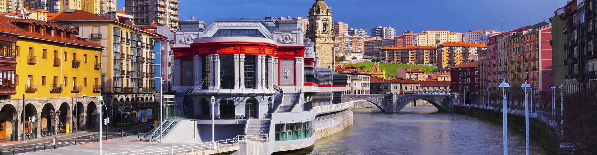 Bilbao - Hostales en el distrito Bolueta. Mapas de Bilbao, Fotos y comentarios de cada Hostal en Bilbao.