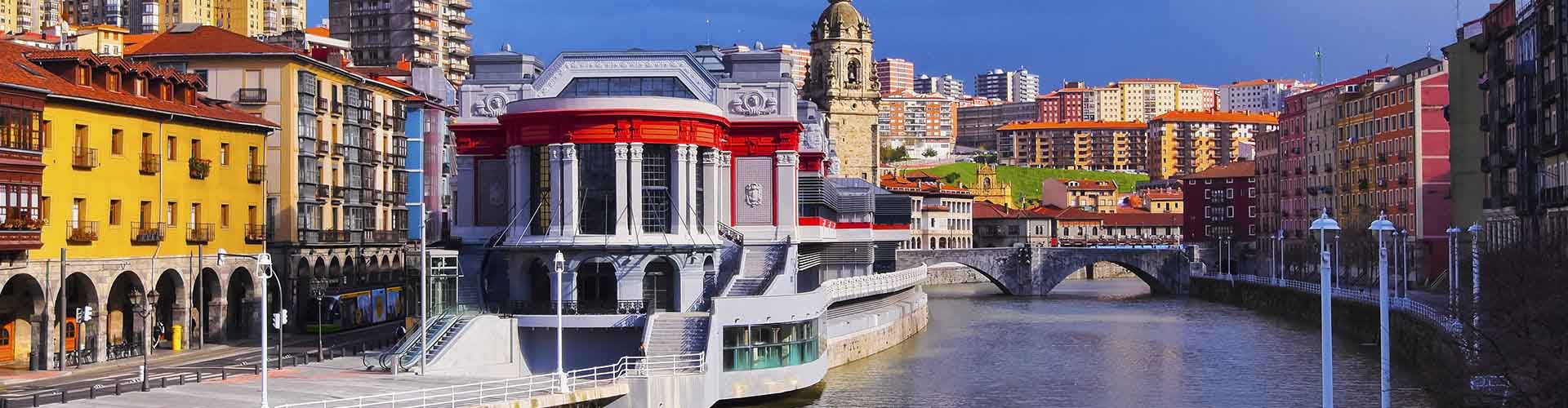 Bilbao - Hoteles baratos cerca a City Center. Mapas de Bilbao, Fotos y comentarios de cada Hotel en Bilbao.