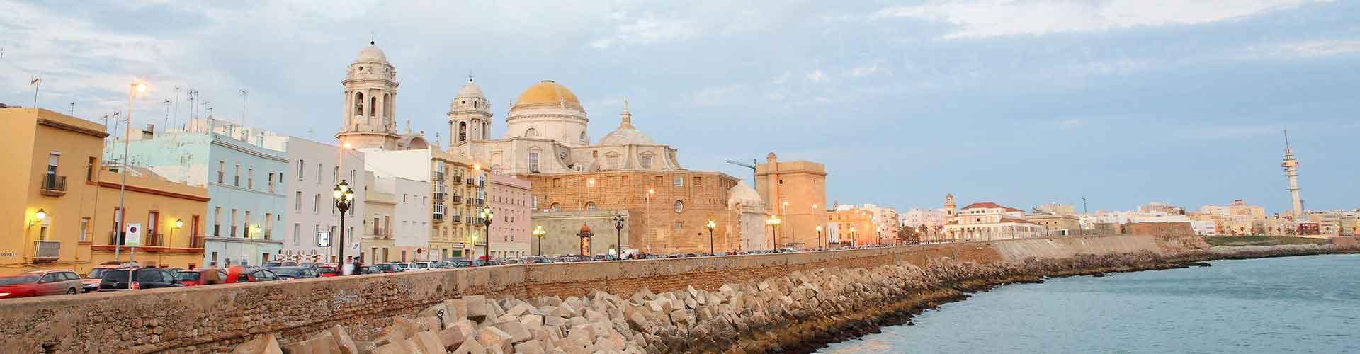 Cádiz - Hostales en Cádiz. Mapas de Cádiz, Fotos y comentarios de cada Hostal en Cádiz.