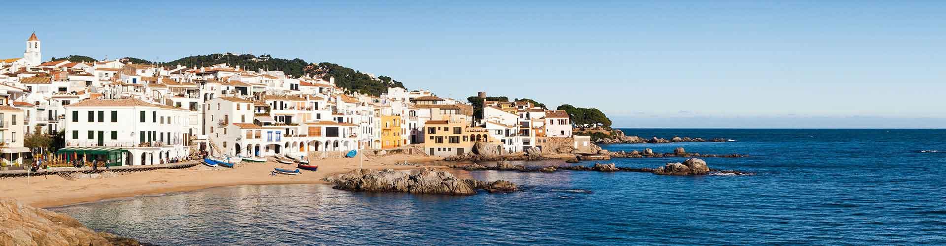 Calella - Hoteles baratos en Calella. Mapas de Calella, Fotos y comentarios de cada Hotel en Calella.