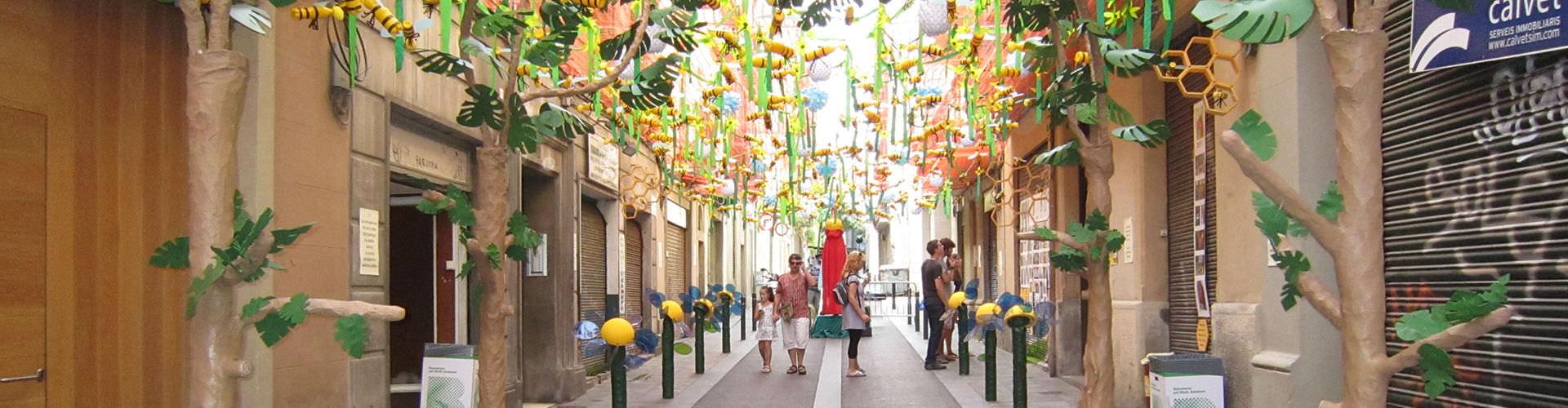 Barcelona - Habitaciones en el distrito Gràcia. Mapas de Barcelona, Fotos y comentarios de cada Habitación en Barcelona.