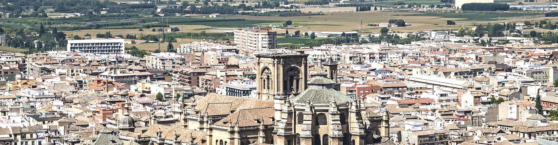 Granada - Habitaciones en el distrito Centro Granada. Mapas de Granada, Fotos y comentarios de cada Habitación en Granada.