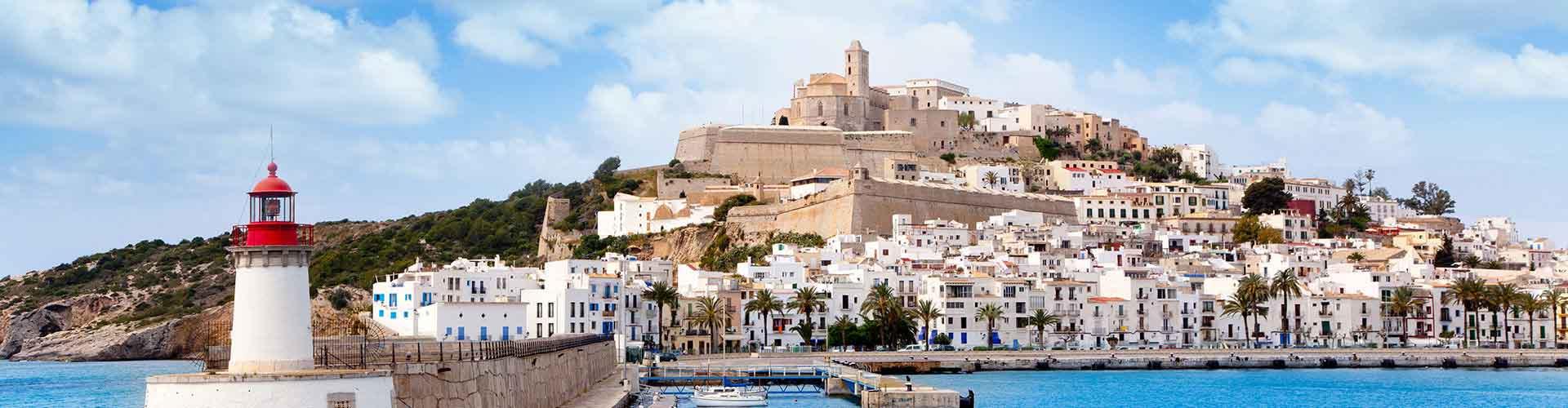 Ibiza - Campamentos en Ibiza. Mapas de Ibiza, Fotos y comentarios de cada Campamento en Ibiza.