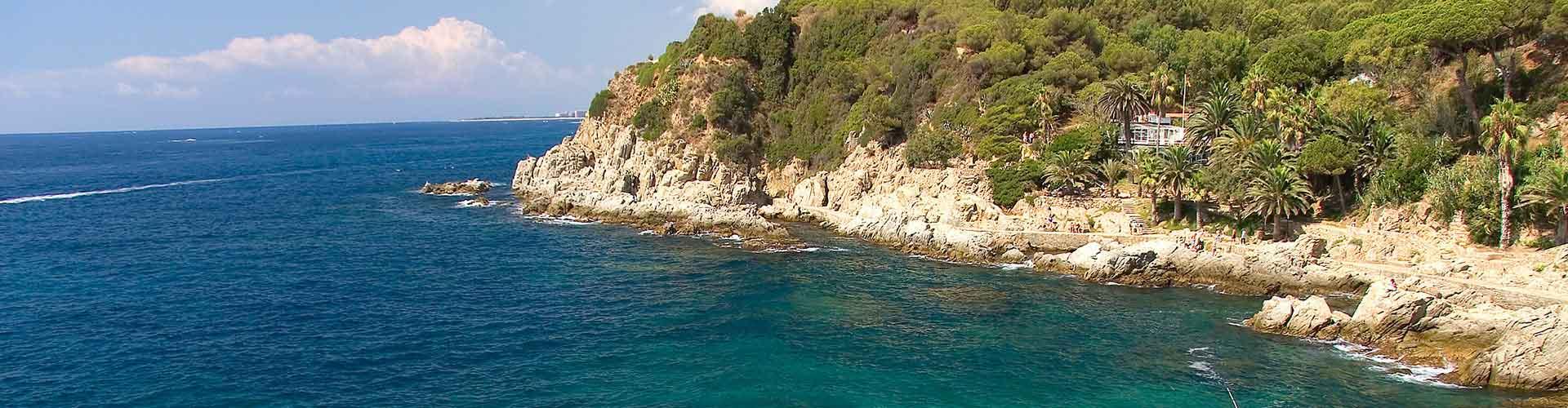 Lloret de Mar - Hostales en Lloret de Mar. Mapas de Lloret de Mar, Fotos y comentarios de cada Hostal en Lloret de Mar.