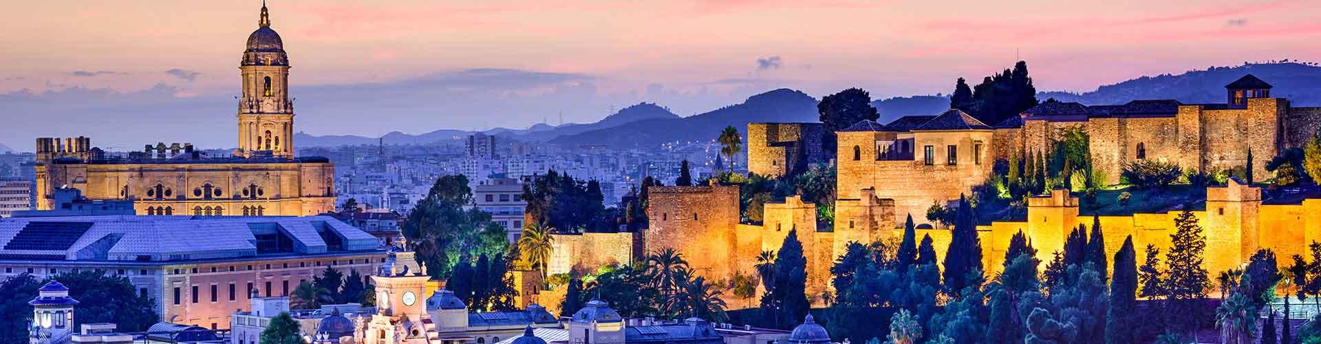 Málaga - Hostales en el distrito Monte Sancha. Mapas de Málaga, Fotos y comentarios de cada Hostal en Málaga.