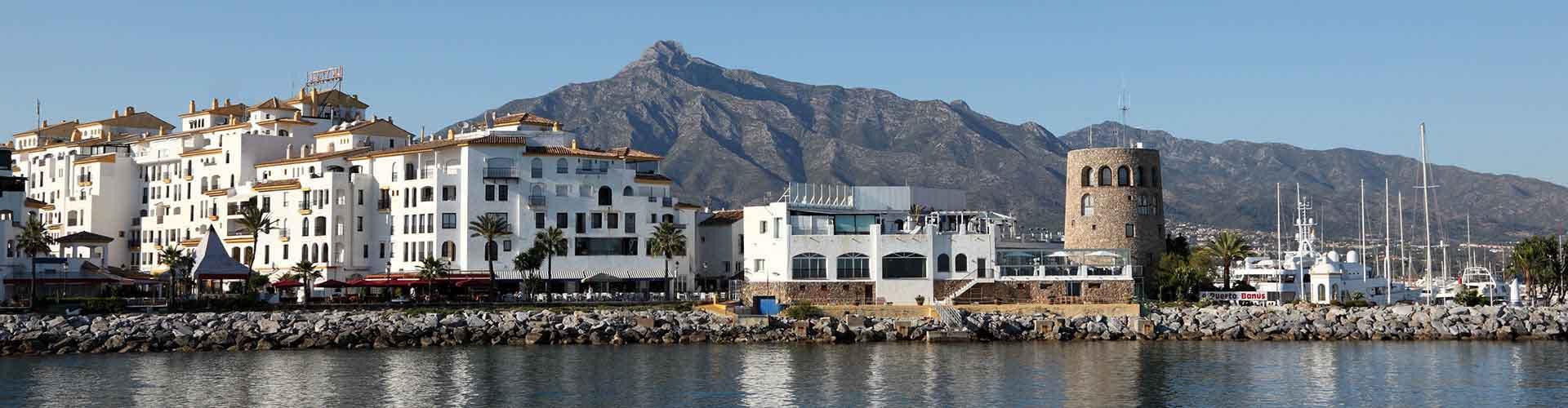 Marbella - Hoteles baratos en Marbella. Mapas de Marbella, Fotos y comentarios de cada Hotel en Marbella.