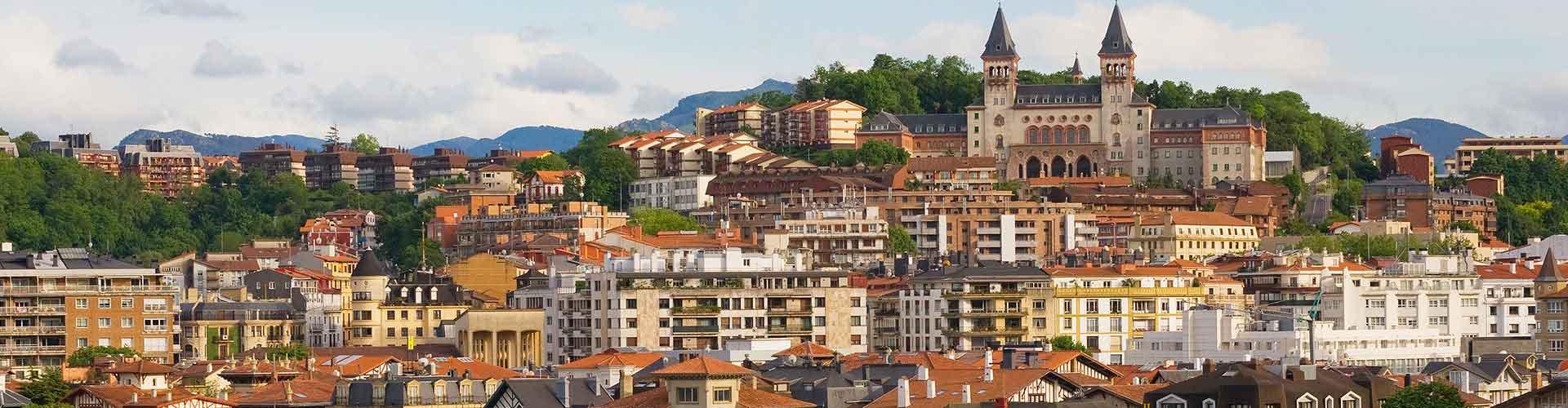 San Sebastián - Hostales en San Sebastián. Mapas de San Sebastián, Fotos y comentarios de cada Hostal en San Sebastián.