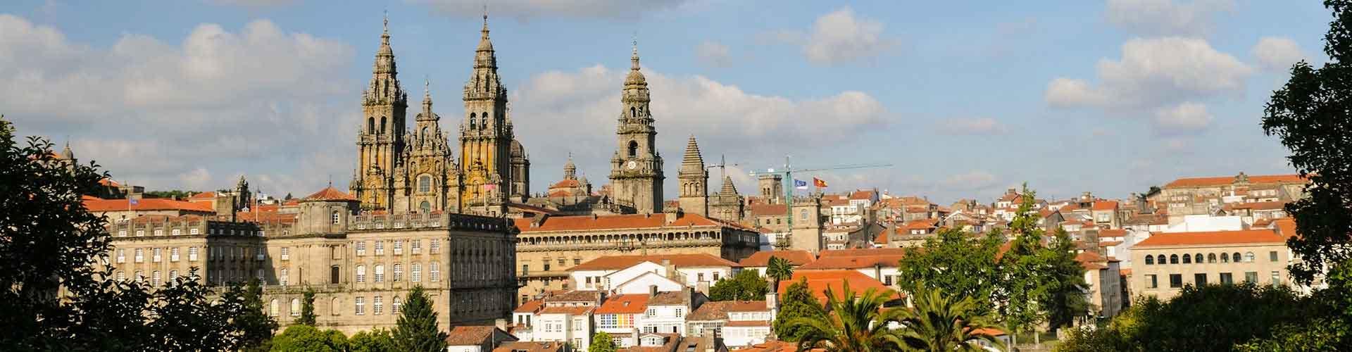 Santiago de Compostela - Habitaciones en el distrito Comillas. Mapas de Santiago de Compostela, Fotos y comentarios de cada Habitación en Santiago de Compostela.
