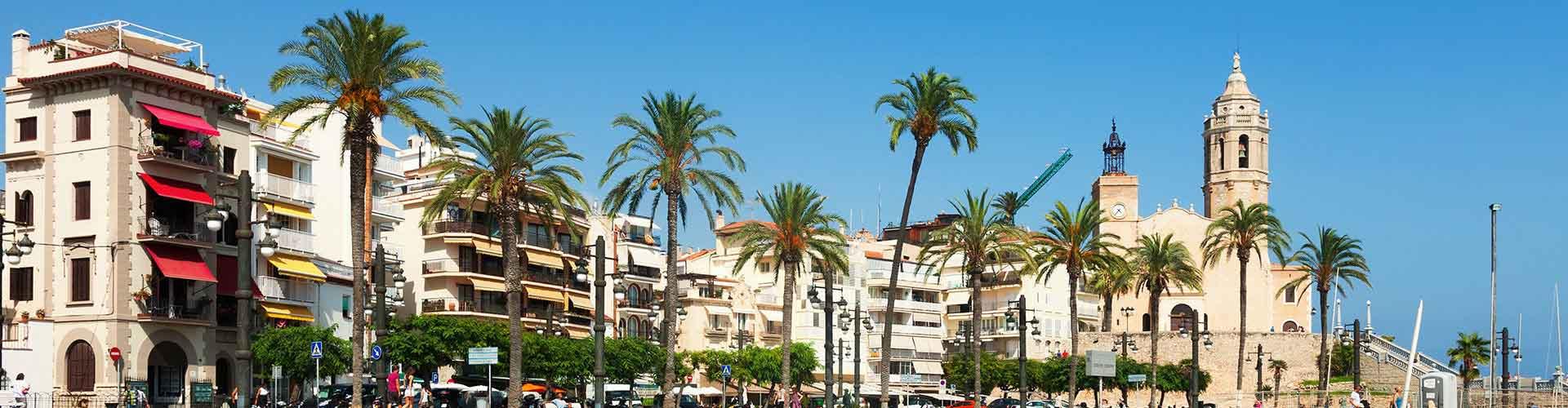 Sitges - Hostales en Sitges. Mapas de Sitges, Fotos y comentarios de cada Hostal en Sitges.