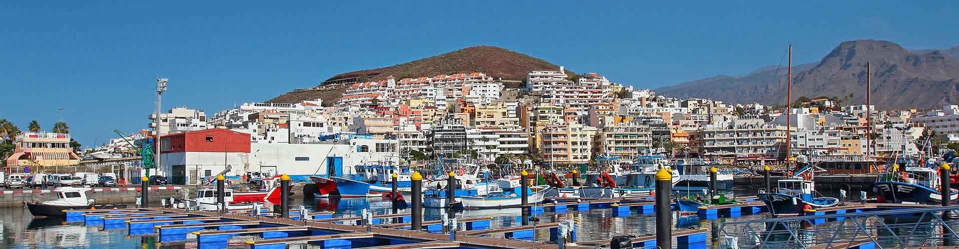 Tenerife - Campamentos en Tenerife. Mapas de Tenerife, Fotos y comentarios de cada Campamento en Tenerife.