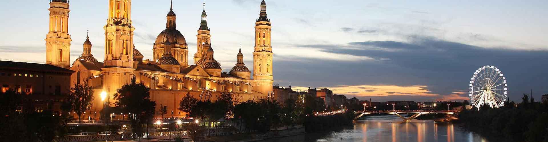 Zaragoza - Hostales en el distrito Casco Antiguo. Mapas de Zaragoza, Fotos y comentarios de cada Hostal en Zaragoza.