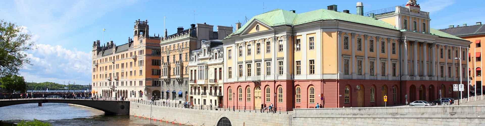 Estocolmo - Habitaciones en el distrito Norrmalm. Mapas de Estocolmo, Fotos y comentarios de cada Habitación en Estocolmo.