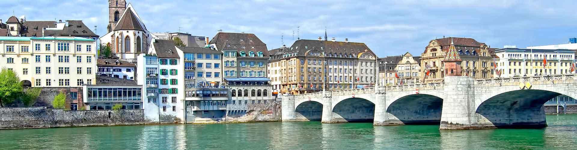 Basilea - Hostales en Basilea. Mapas de Basilea, Fotos y comentarios de cada Hostal en Basilea.