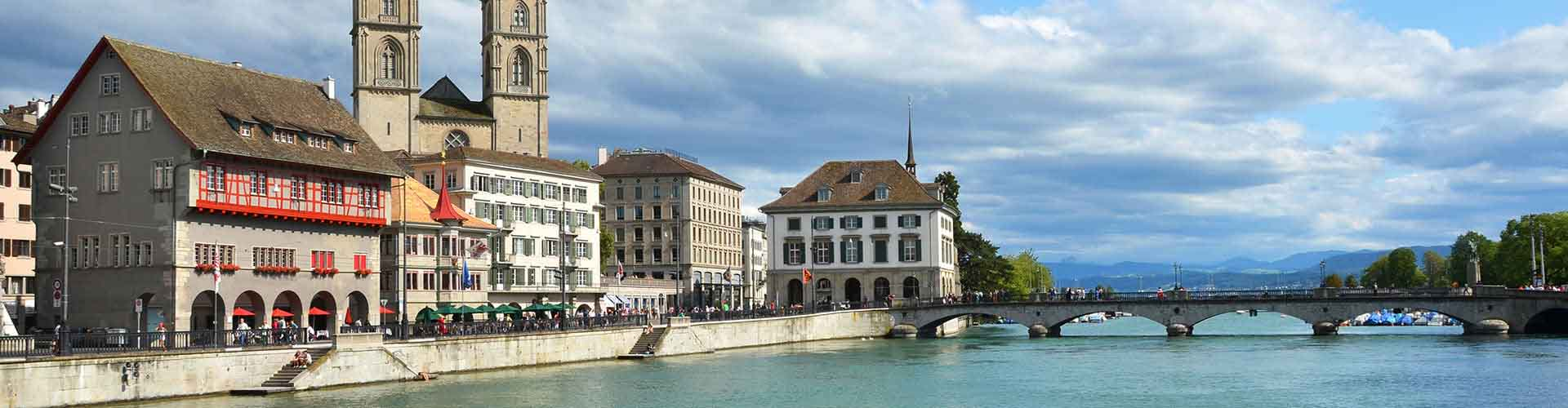 Zurich - Hostales en el distrito Wiedikon. Mapas de Zurich, Fotos y comentarios de cada Hostal en Zurich.