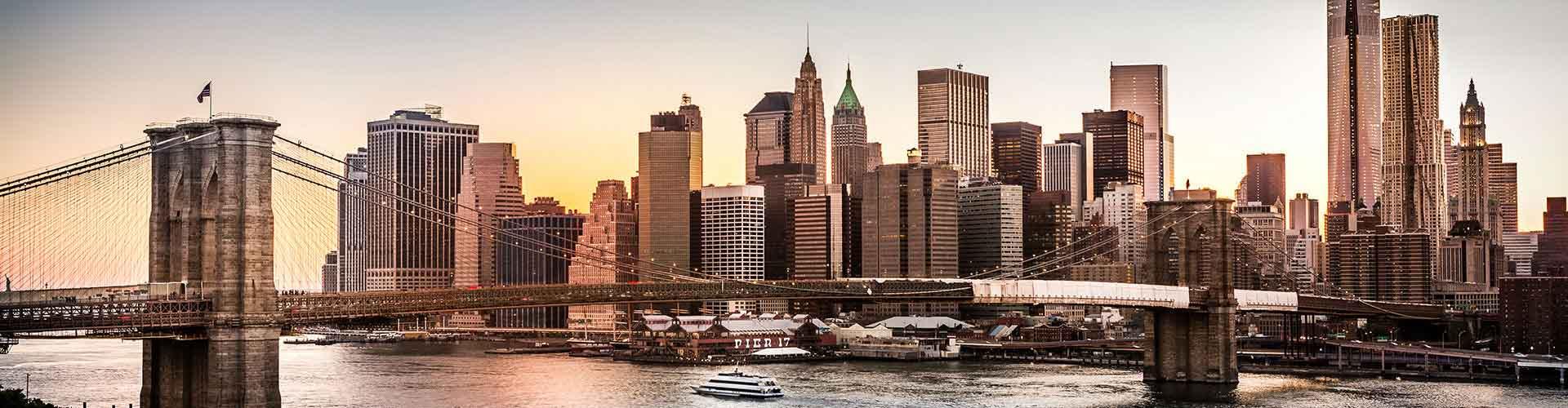 Nueva York - Campamentos en el distrito Brooklyn. Mapas de Nueva York, Fotos y comentarios de cada Campamento en Nueva York.