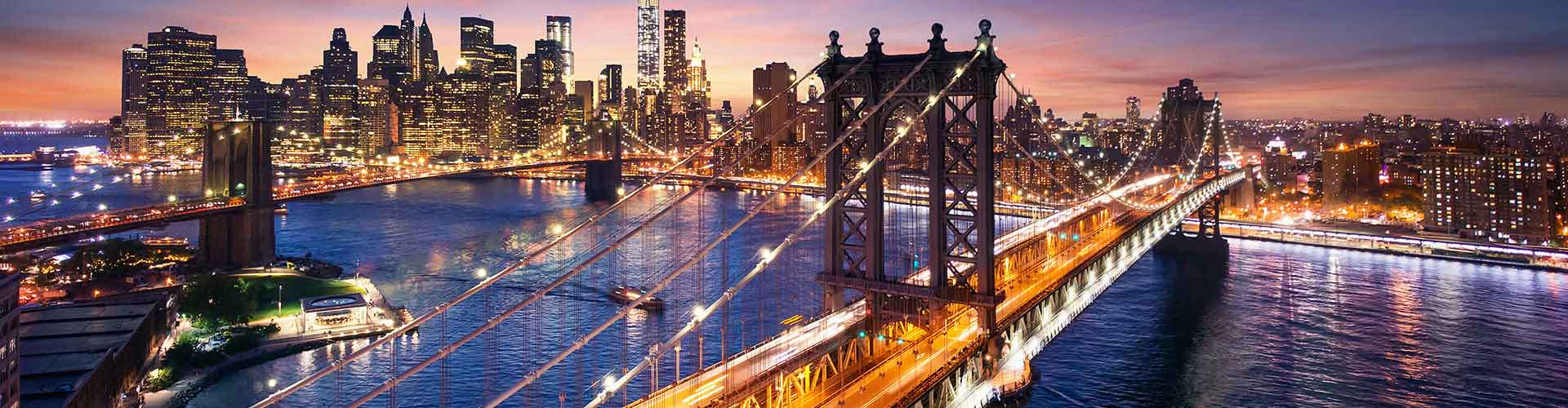 Nueva York - Hostales en el distrito Manhattan. Mapas de Nueva York, Fotos y comentarios de cada Hostal en Nueva York.